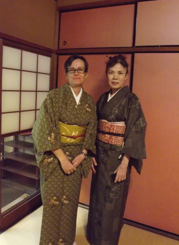 kitsuke, kimono, obi