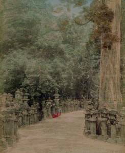 japanese lantern kasuga assembly tripod hoist granite japanese garden