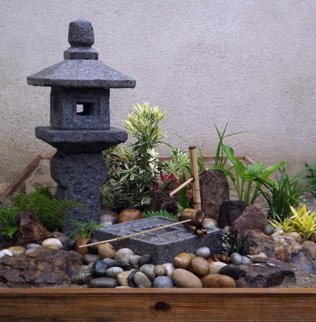 Mini Jardin Zen Interieur. Free Culture Indoor House And Garden