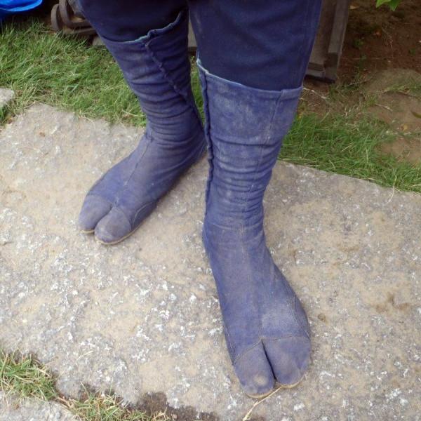 chaussure jardin japonais tabi tikatabi jardinier