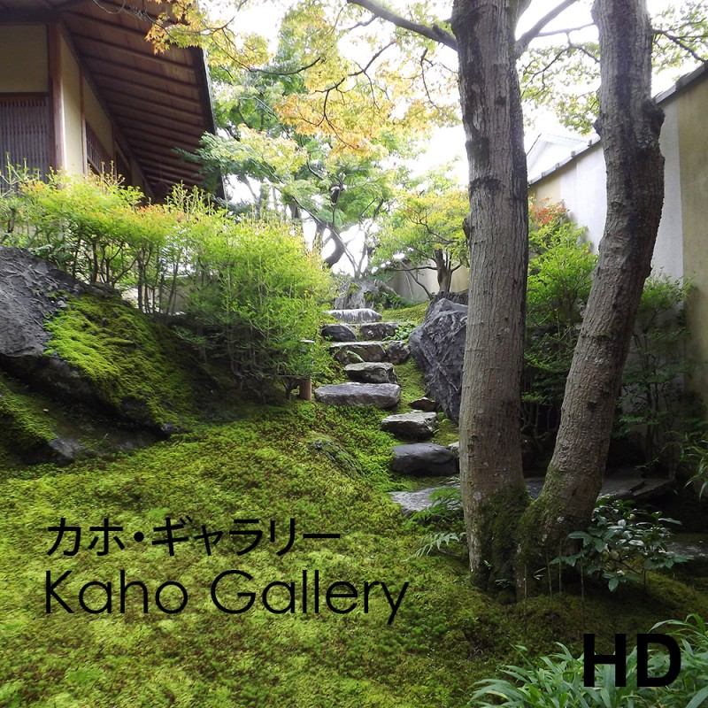 Video of Kaho gallery - Kyoto - Frederique Dumas www.japanese-garden-institute.com www.frederique-dumas.com