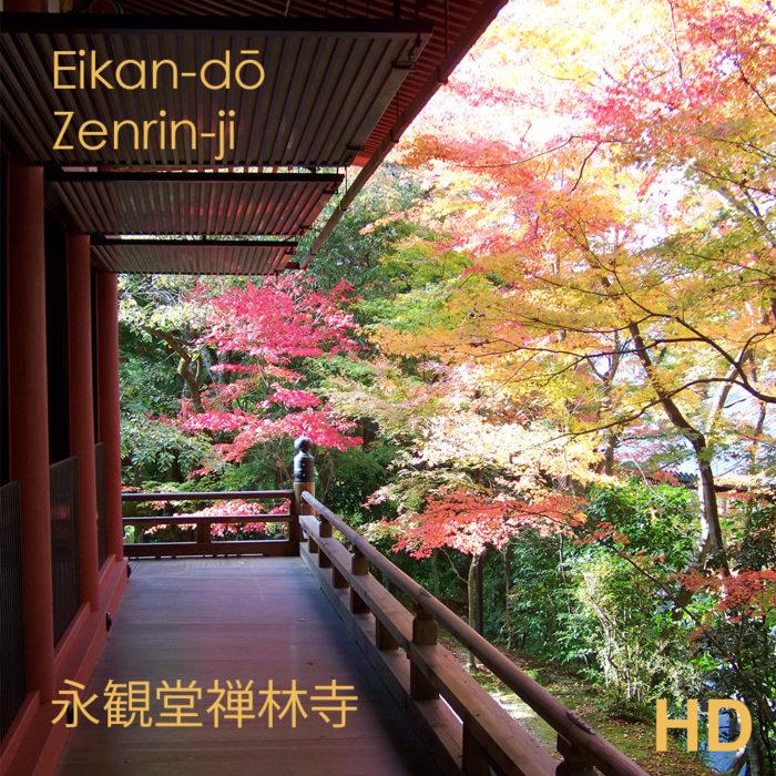 Video du jardin Eikan-dō Zenrin-ji - Kyoto - Frederique Dumas www.japanese-garden-institute.com www.frederique-dumas.com