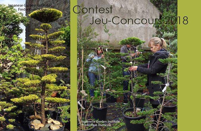Contest 2018 - Jeu concours 2018 - Niwaki & Co - Frederique Dumas www.japanese-garden-institute.com www.frederique-dumas.com