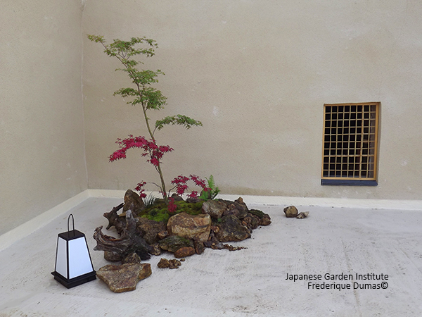 Creation of contemporary Japanese garden - Niwatherapy© - Therapeutic Japanese gardens - Frederique Dumas - www.frederique-dumas-landscape.com - www.frederique-dumas.com